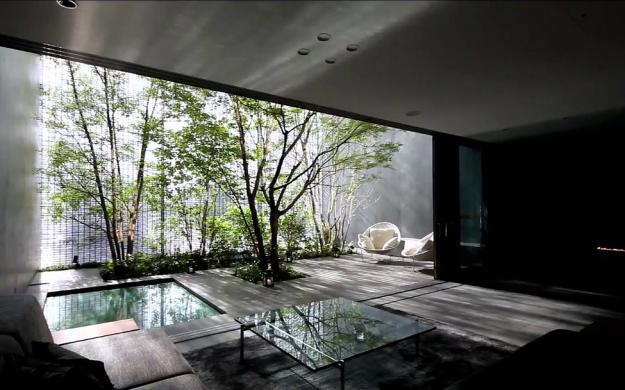 Optical glass house sami design sight for Modern japanese house design by hiroshi nakamura